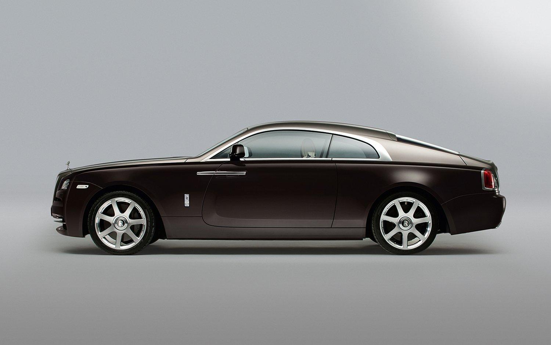 Rolls Royce Wraith side 2