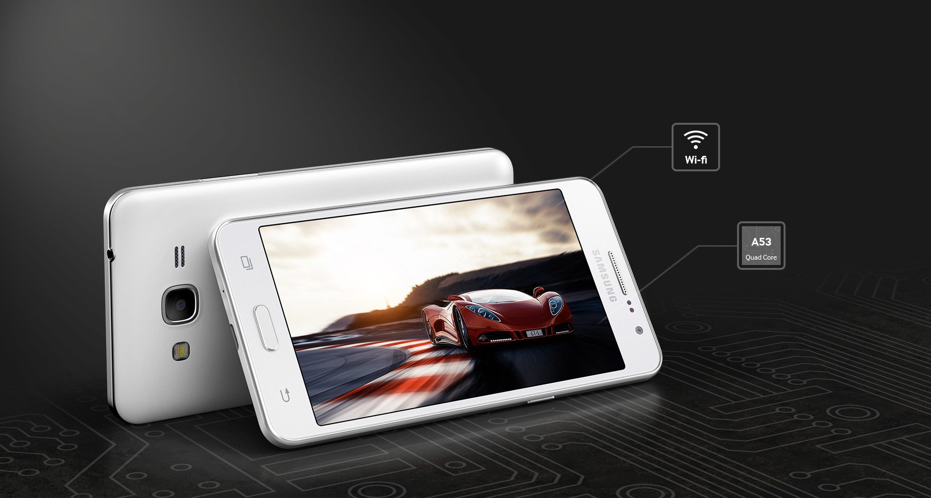 Samsung Galaxy Grand Prime, a 5-megapixel selfie shooter unviled in India for Rs. 15,499