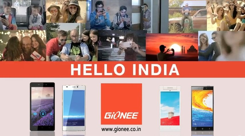 Gionee Smartphones targeting customers with the launch of 'Hello India' campaign