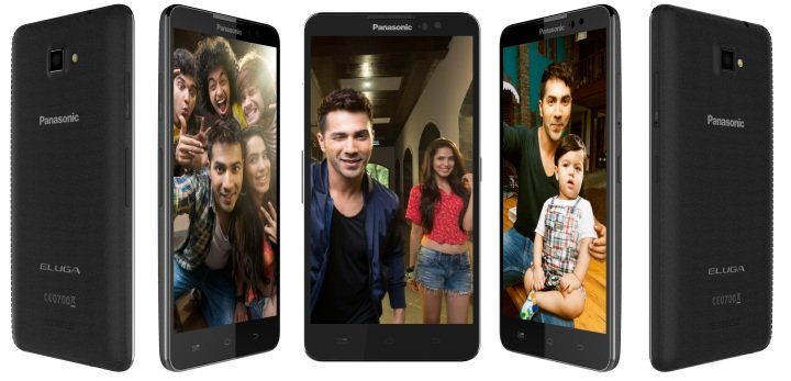 Panasonic Eluga S, a selfie smartphone launched in India at Rs. 11,190
