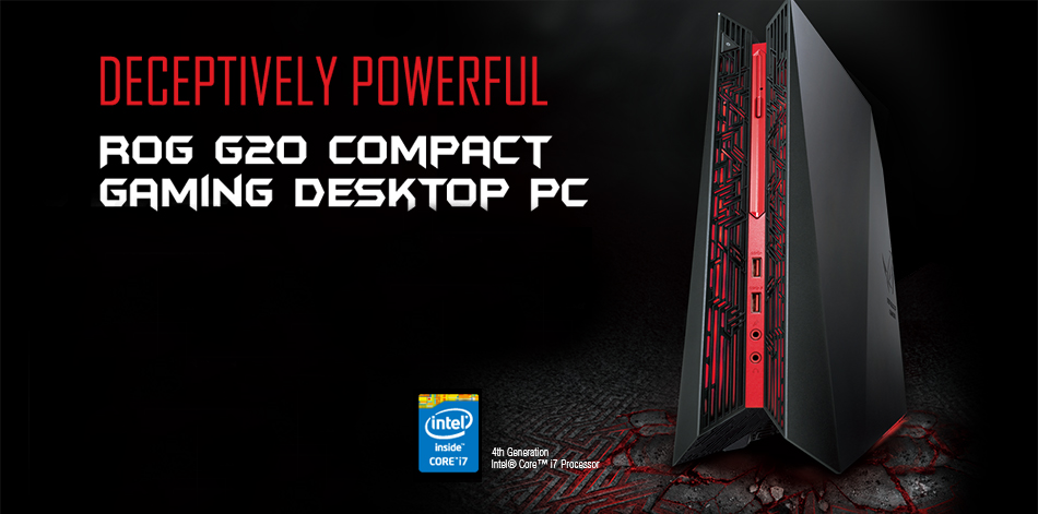 Asus ROG G20AJ Review A gaming desktop with 4th gen Intel Core i7 processor