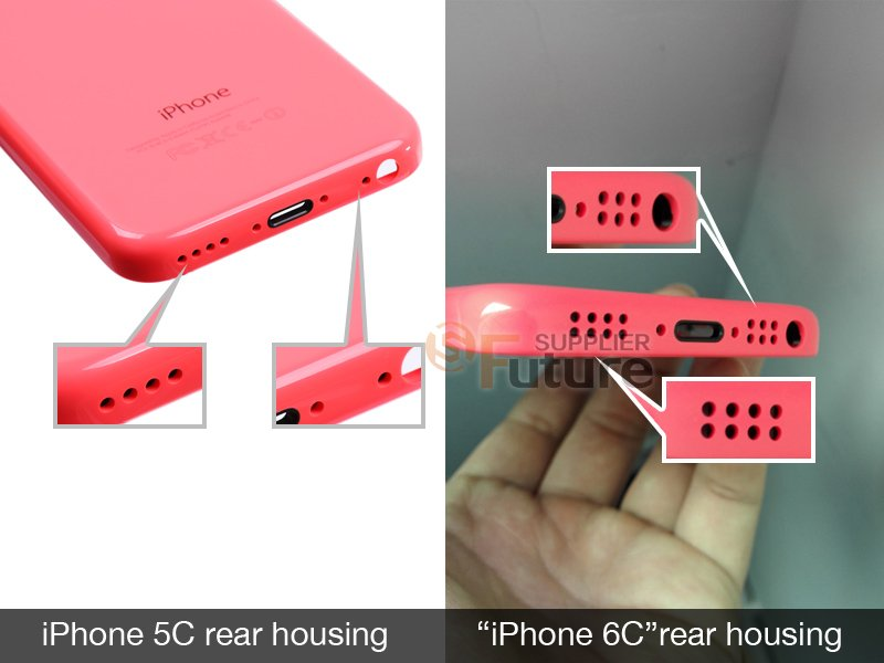 Apple iPhone 6C alleged images exposed
