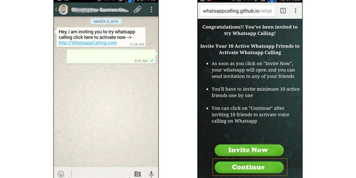 Be Alert WhatsApp Voice Calling Feature Invites Extents Malware on Smartphones