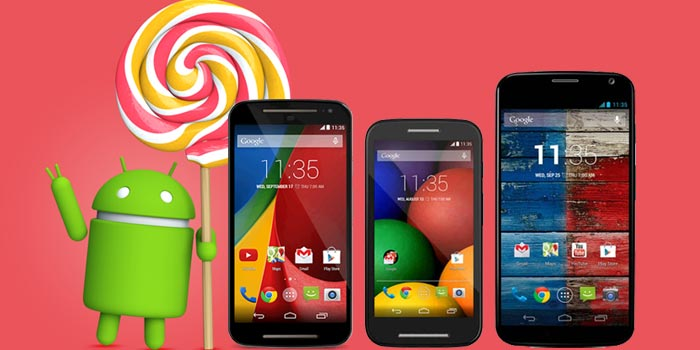 Motorola to roll out Android 5.1 Lollipop update for 1st Gen Moto E, Moto X and Moto G 4G LTE