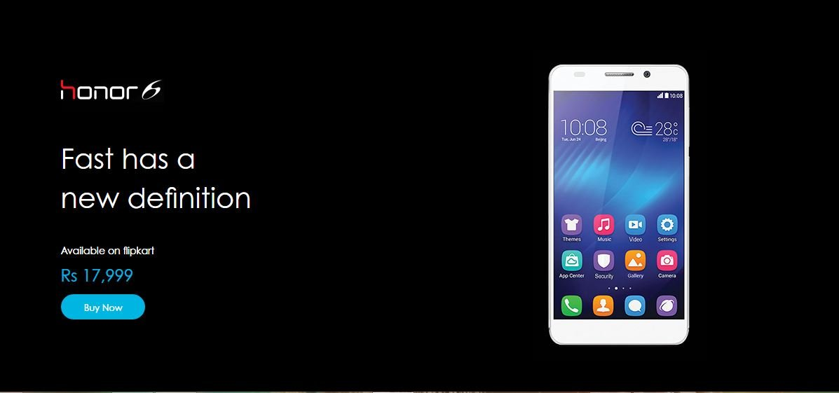 Huawei Honor 6 Plus now available for pre-order at 26,499 INR