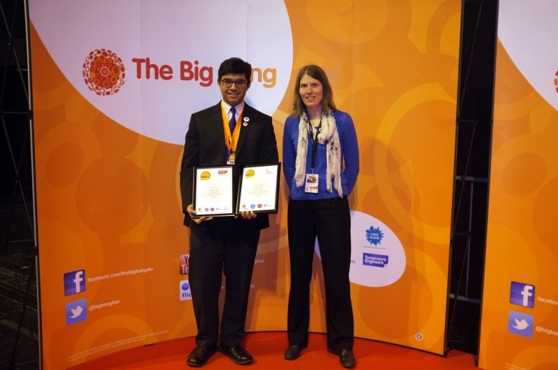 15 years old India-origin Pratap Singh wins the Institute of Physics Prize in the UK