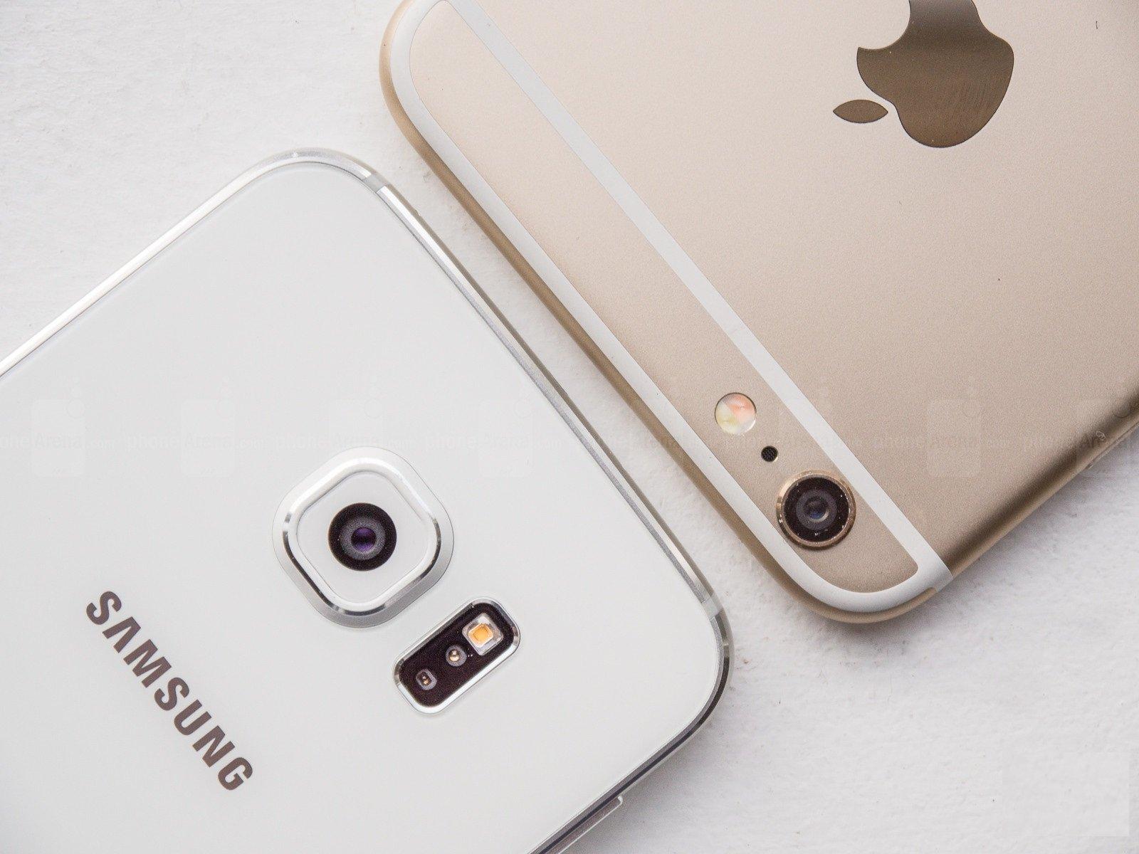Samsung Galaxy S6 edge vs Apple iPhone 6 Plus 13