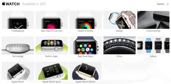 explore apple watch
