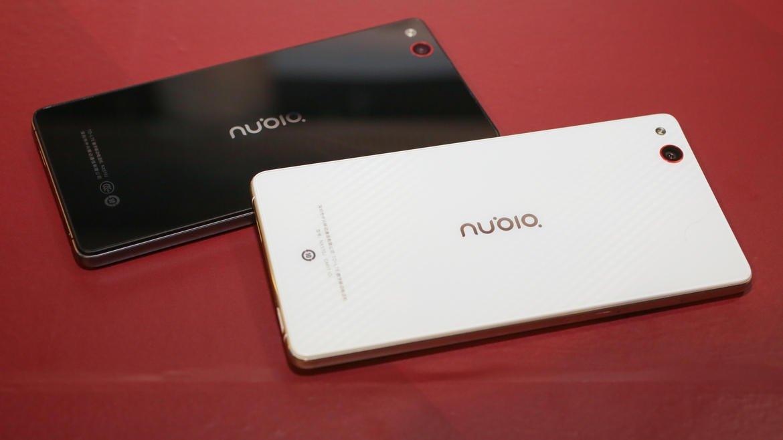 nubia smartphone india