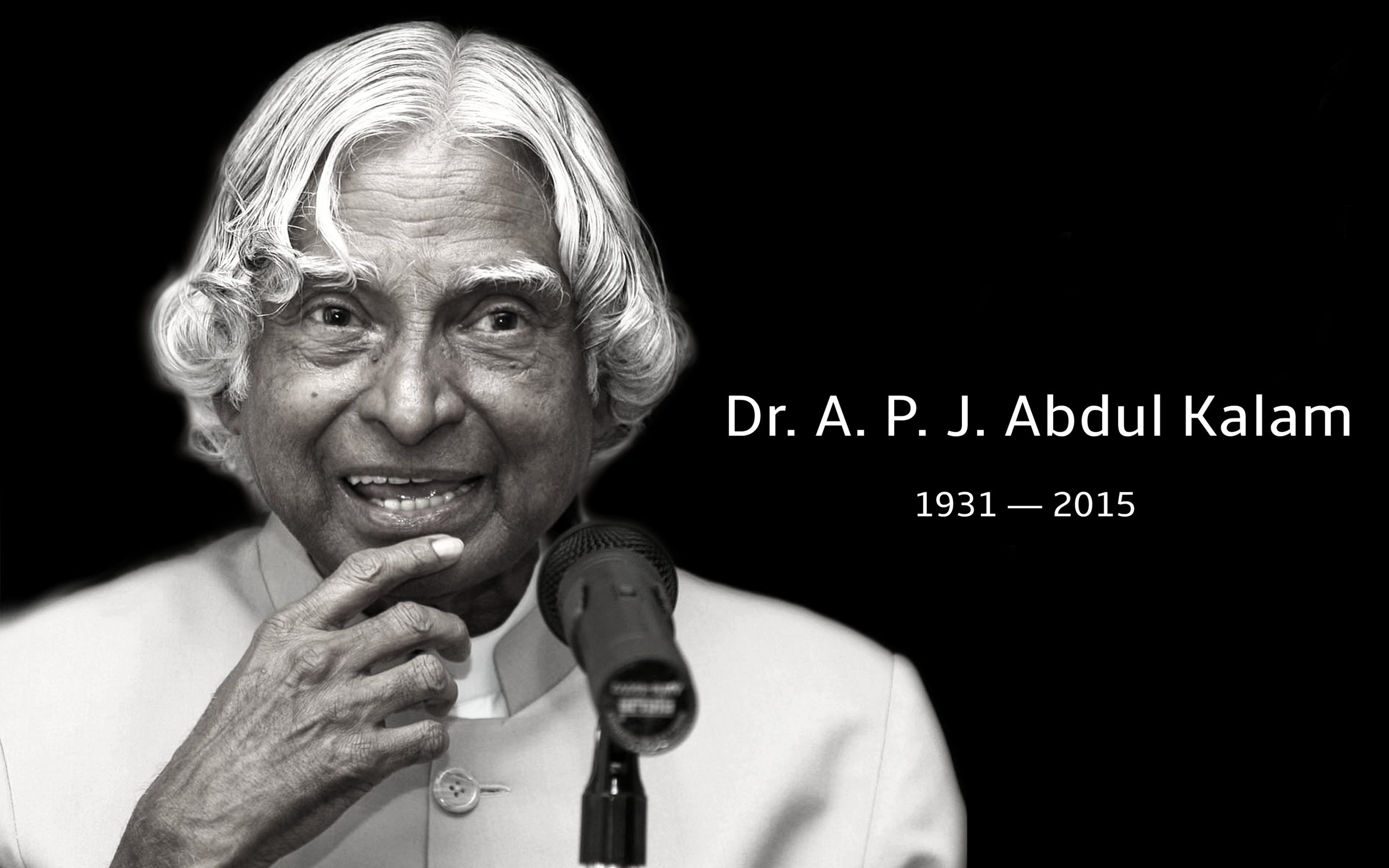 Tribute to Dr. APJ Abdul Kalam by Team PC-Tablet