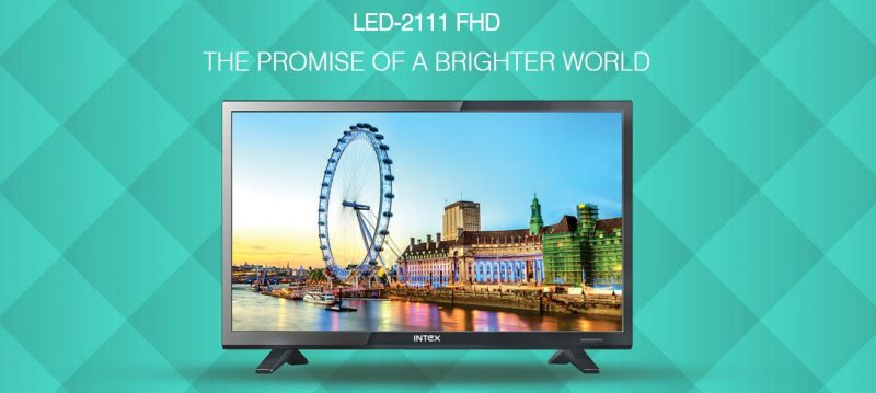Intex launches 21-inch Full HD 1080p LED TV for Rs. 9,999: Specs and Features