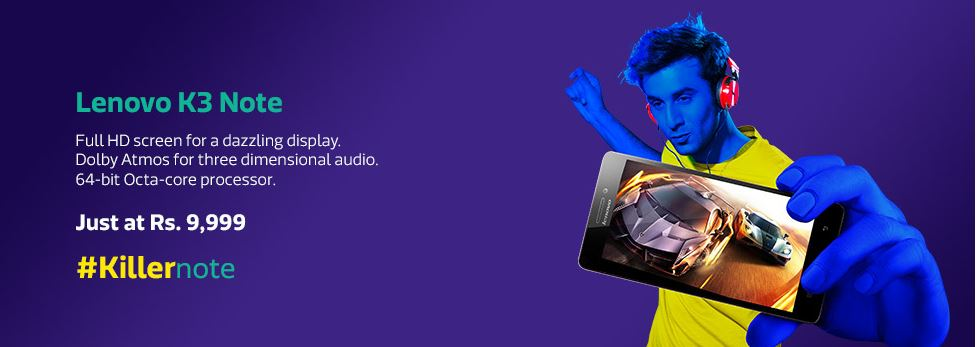 Lenovo sells 49,800 units of K3 Note on today's flash sale on Flipkart