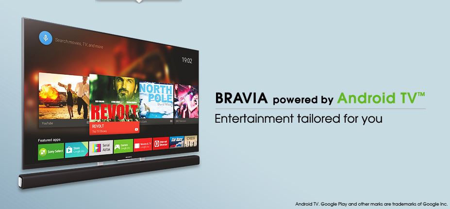 Sony's Android TV