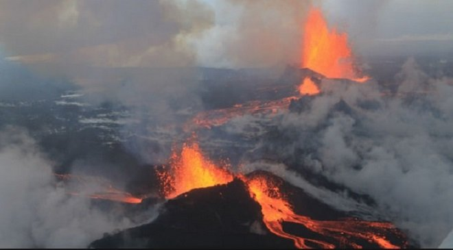 Volcanic Eruptions Bring Down Global Warming