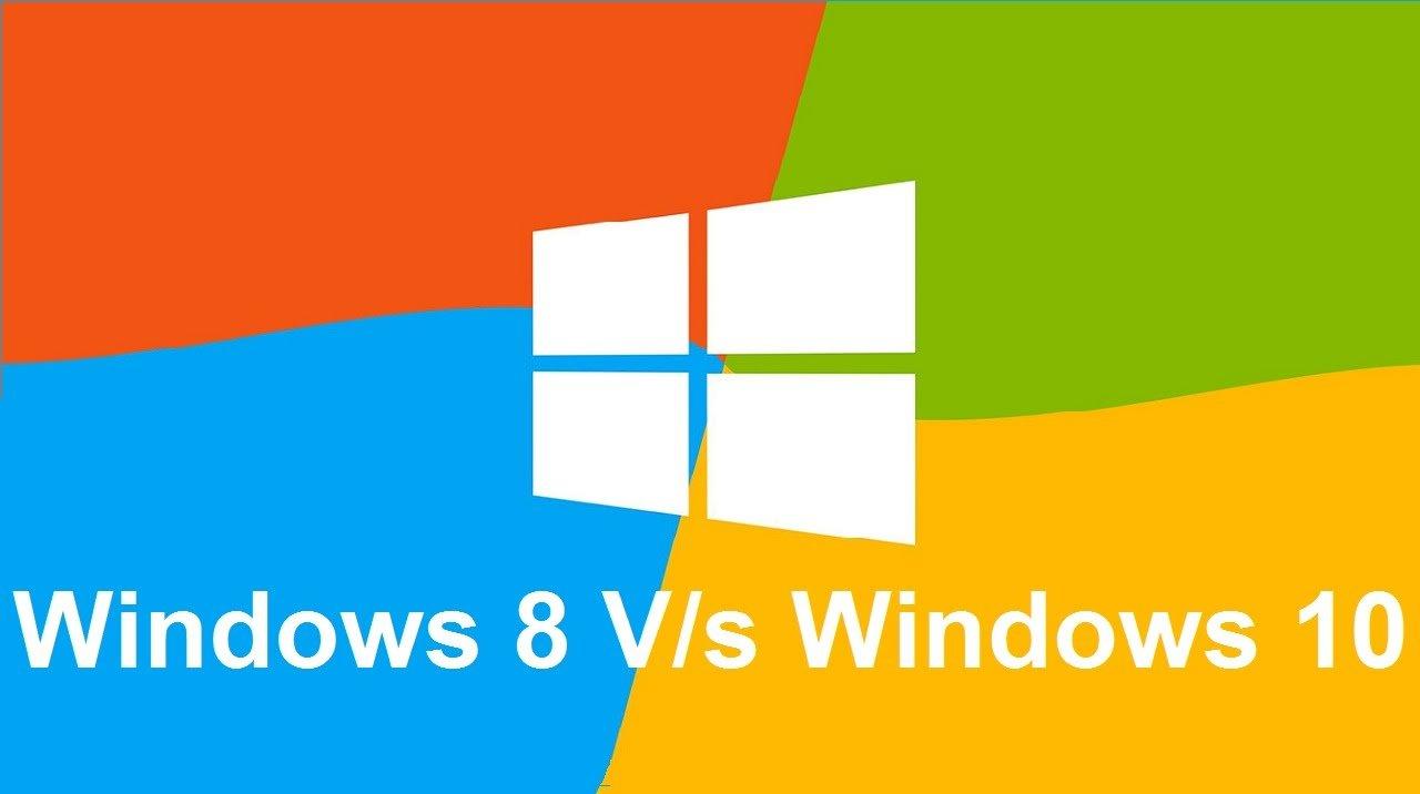 Windows 10 Vs. Windows 8.1