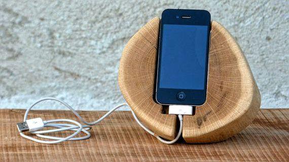 phones in docking stands