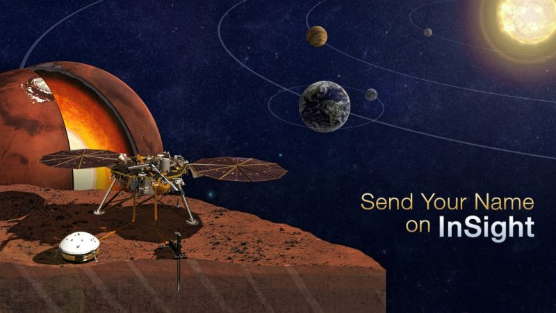 NASA Send You Name To Mars