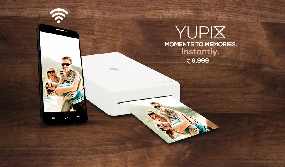 Yu YuPix portable printer goes on sale today at Rs 6,999 on Amazon