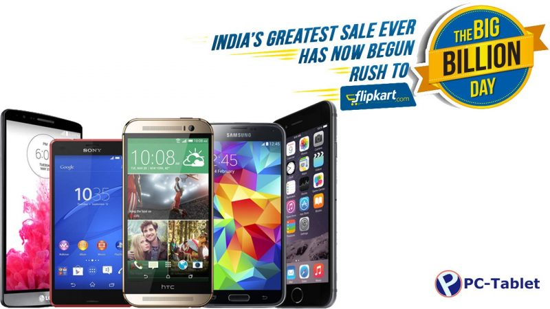 Flipkart Big Billion Days Sale Deals for Smartphones