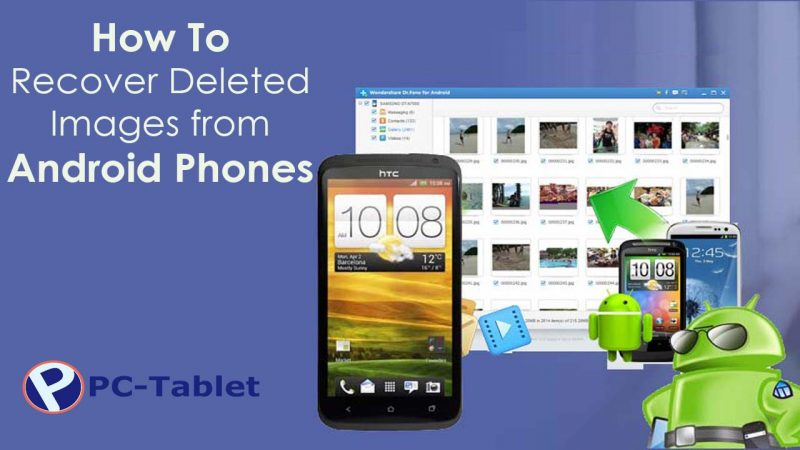 How to recover deleted photos from Android smartphone