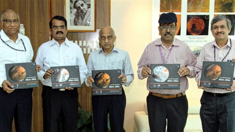 Hindi Atlas Book on India's Space Missions