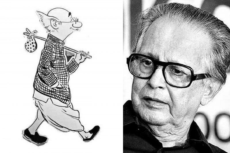 Google Doodle Celebrates 94th Birthday of Late R. K. Laxman Common Man Cartoonist