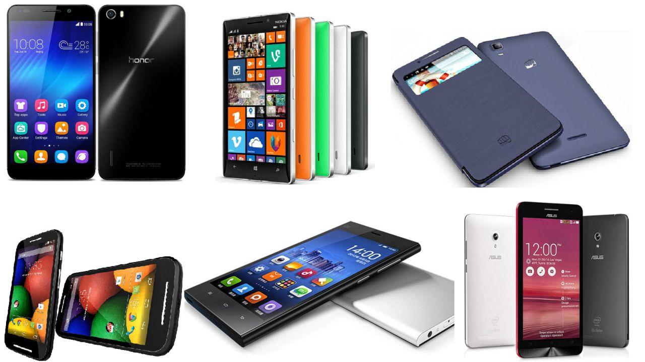 Top smartphones under Rs. 6000