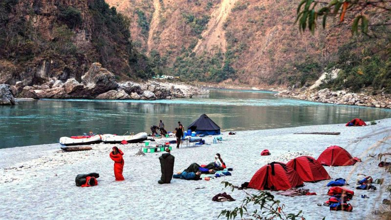 Access Water expedition on Ganges
