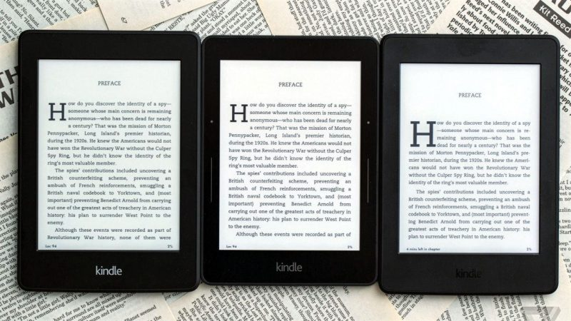 Deals on Kindle, Kindle Paperwhite and Kindle Voyage e-Readers
