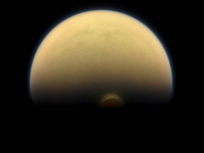ice cloud on Titan