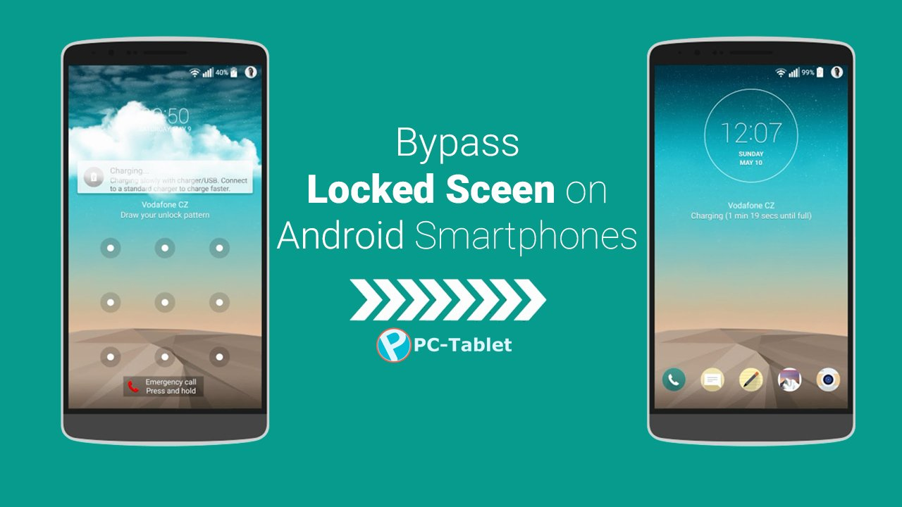 How to Bypass an Android Secured Lock Screen