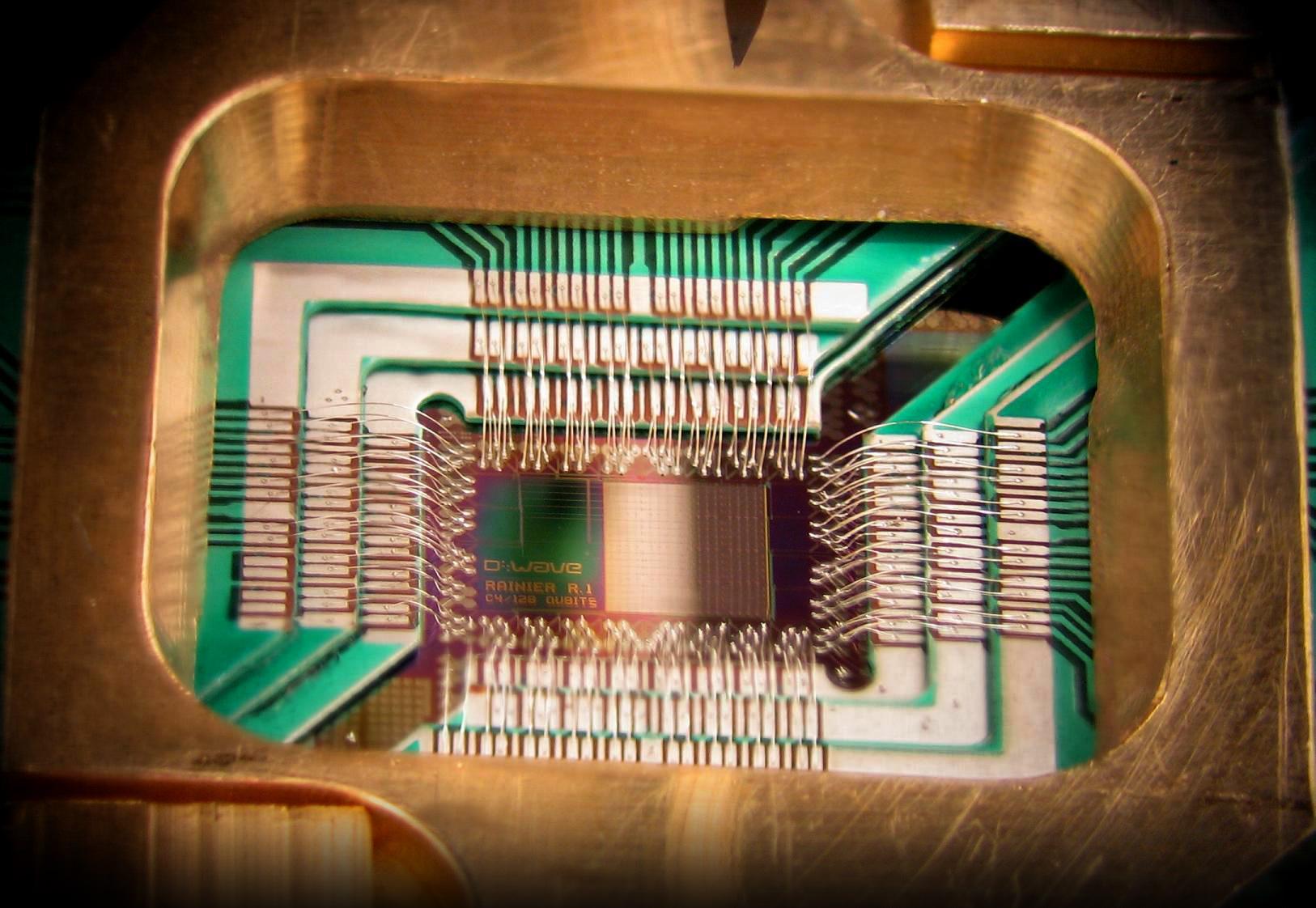 Quantum Computer Google NASA D Wave