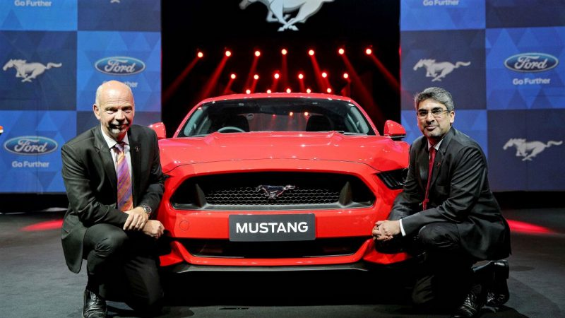 Ford launches 2016 Ford Mustang in India