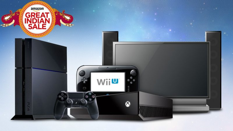 Amazon Great Indian Sale 2016 Deals on Video Games and Gaming Consoles