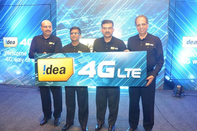 Idea Cellular launches high-speed 4G LTE services