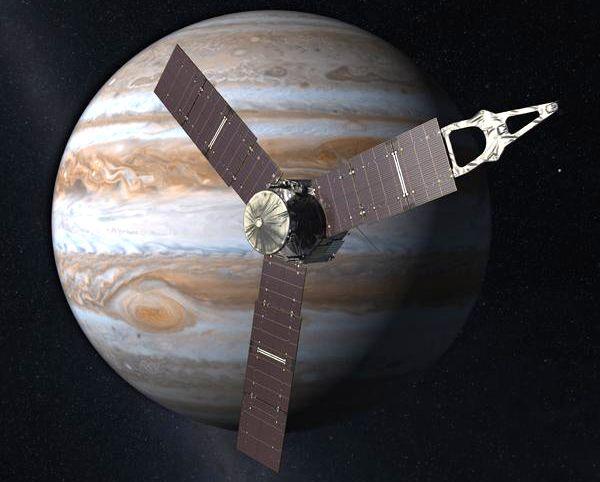 NASA's Solar-powered Jupiter Probe, Juno