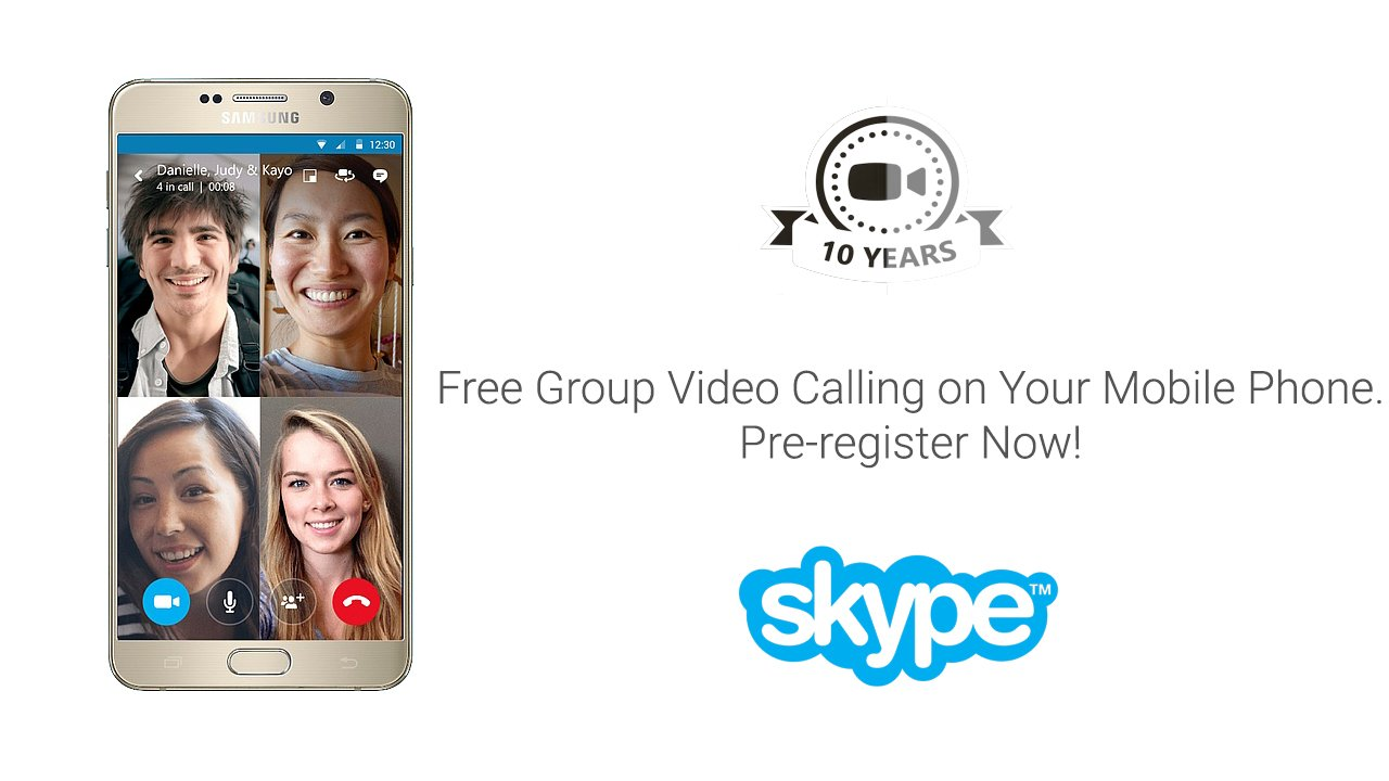 Skype Free Group Video Calling