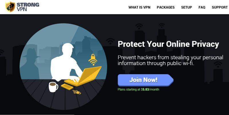 Strong VPN App