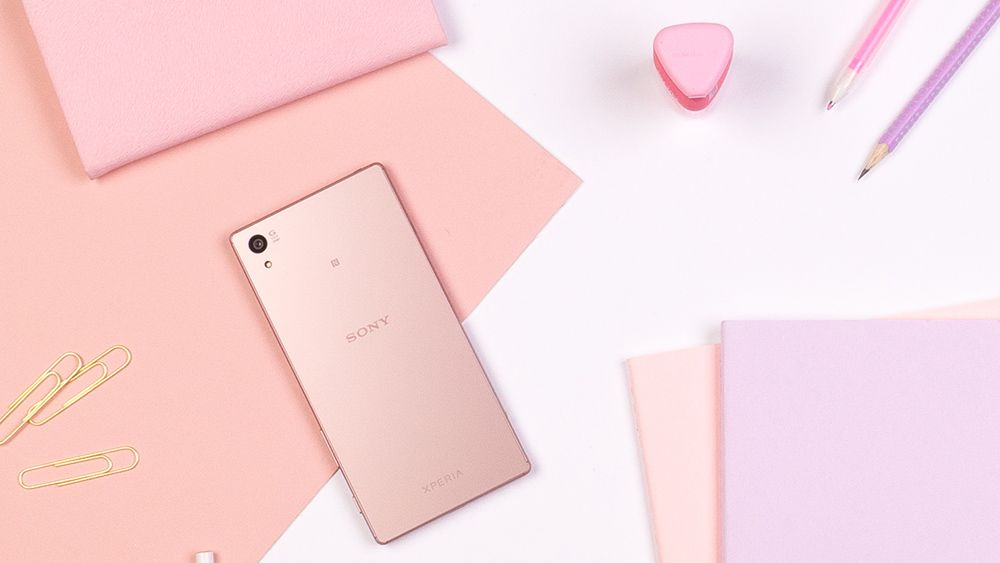 Sony Xperia Z5 pink color variant