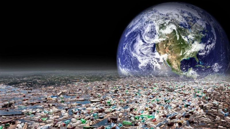 Earth also known as plastic planet