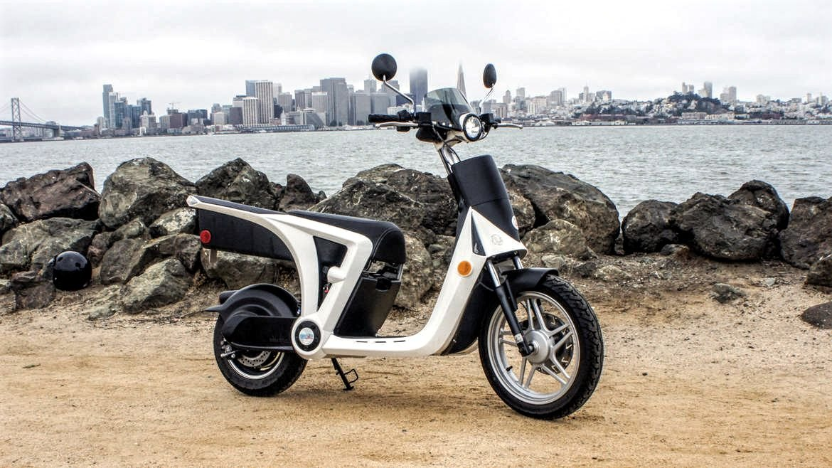 Mahindra GenZe 2.0all-electric scooter
