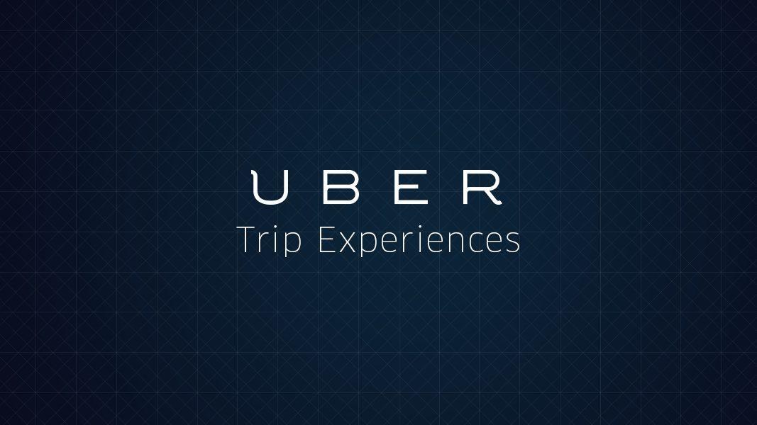 Uber Trip Expeiences