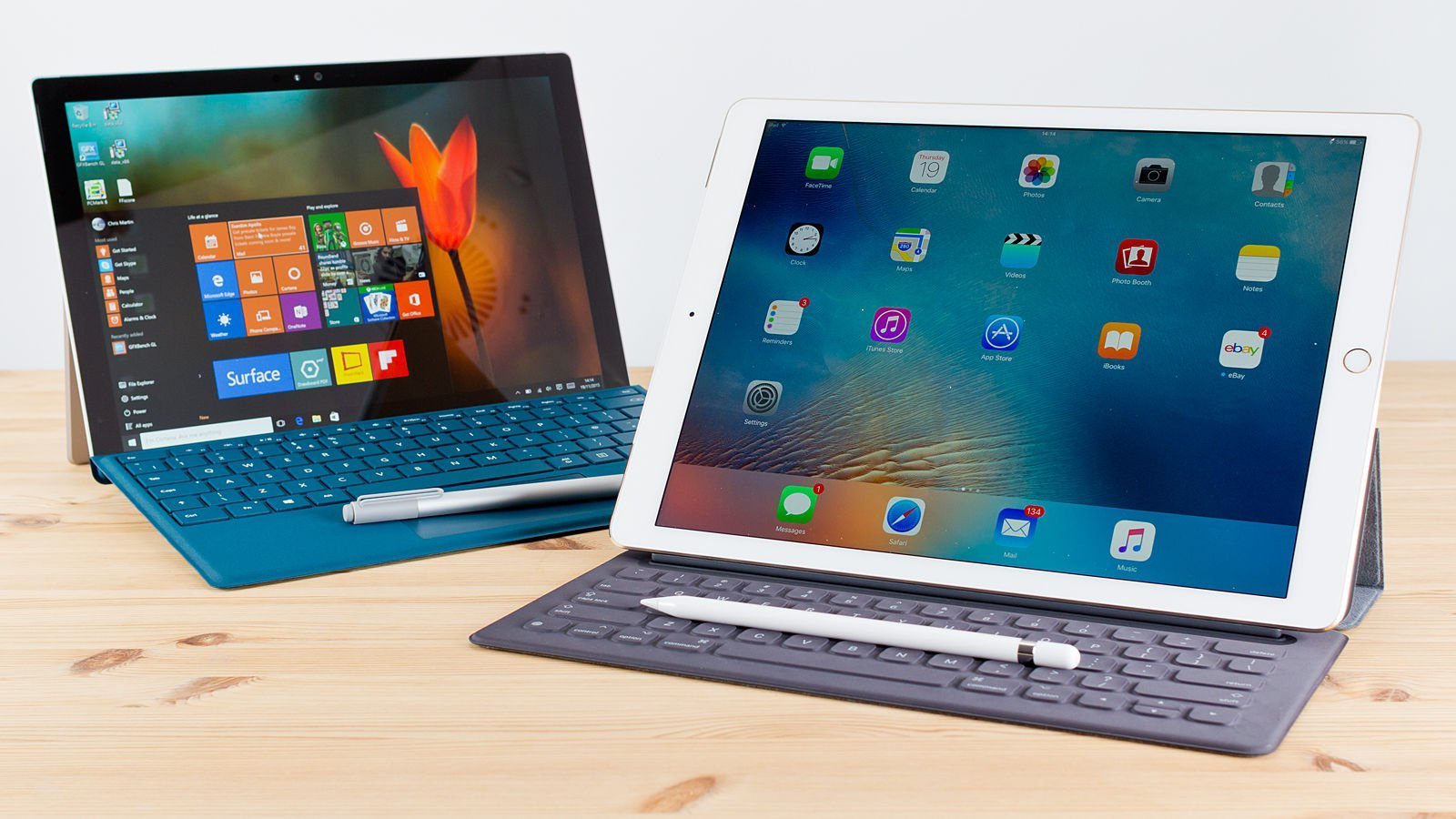 Apple iPad Pro Vs. Microsoft Surface Pro 4