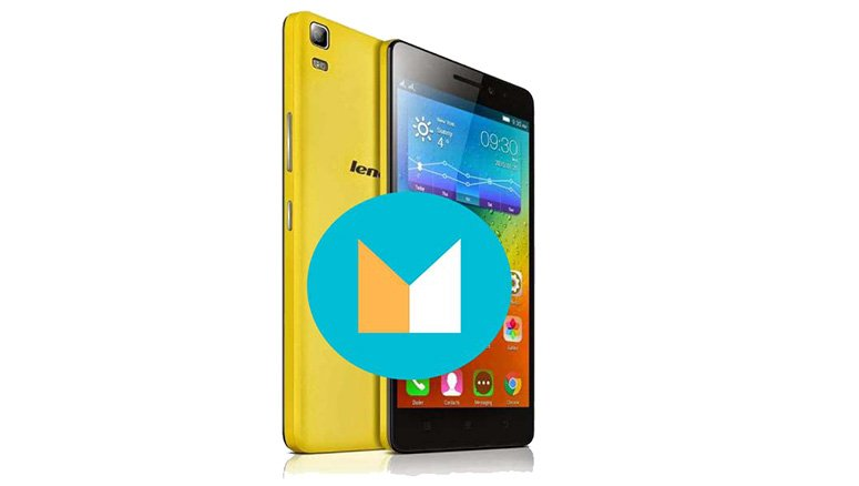 Lenovo K3 Note Android M