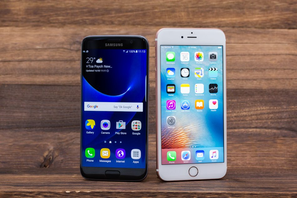 s7 vs iphone 6 32gb
