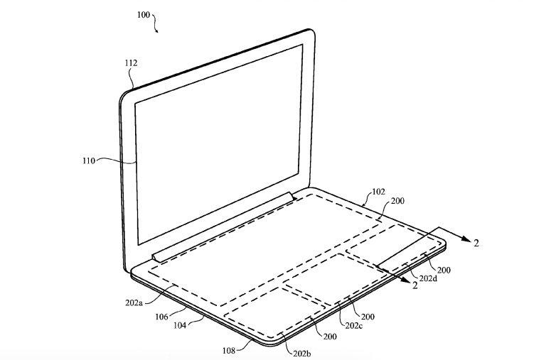 Keyboardless Apple MacBook