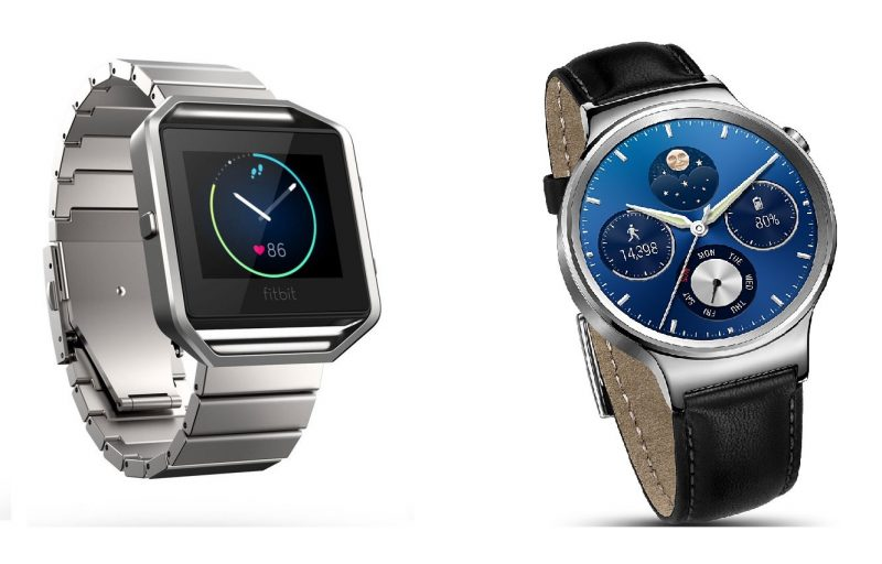 huawei watch vs fitbit blaze