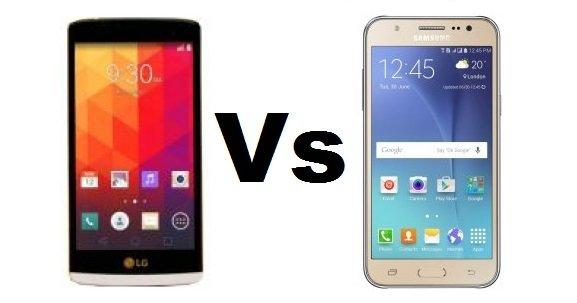 LG K7 Vs Samsung Galaxy J5