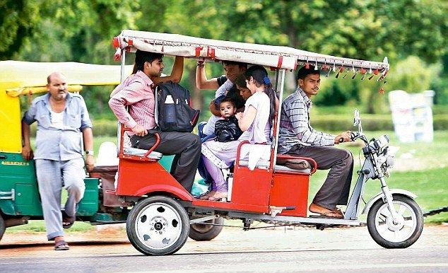 ola electric rickshaw delhi ncr