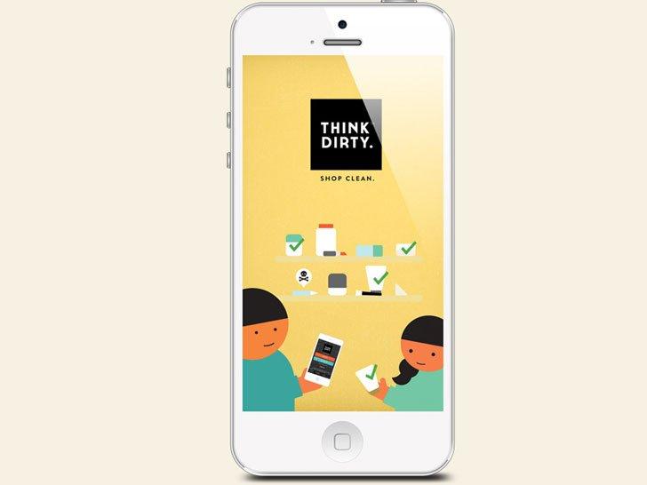 Think Dirty Shop Clean App